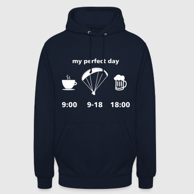 perfect paragliding day - Unisex Hoodie