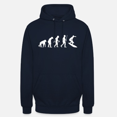 Surfer Surfer Evolution - Sweat-shirt à capuche unisexe