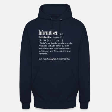 Developer Definition computer scientist - Unisex Hoodie