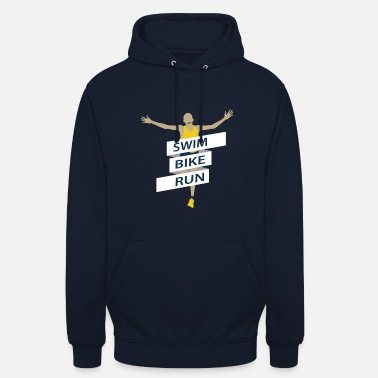 Rune Runing to the finishline - Unisex Hoodie
