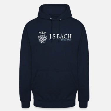 Bach JSBach (1685-1750) - Unisex Hoodie