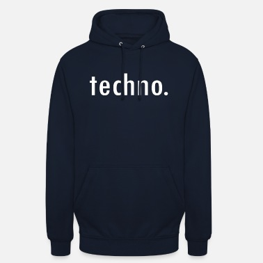 Techno TECHNO - Sweat à capuche unisexe