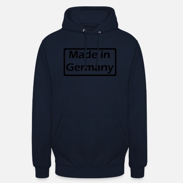 Made In Usa Made in Germany - Sudadera con capucha unisex