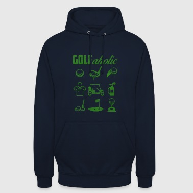 GOLF - Sweat-shirt à capuche unisexe