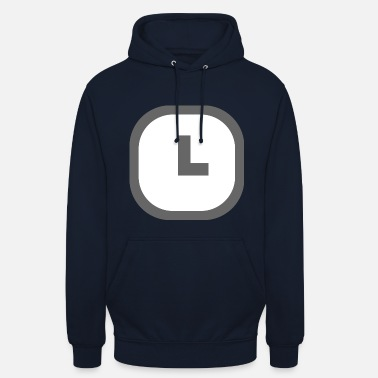 Clock Quel est App Clock - Sweat-shirt à capuche unisexe