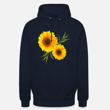 Tournesol tournesol - Sweat-shirt à capuche unisexe