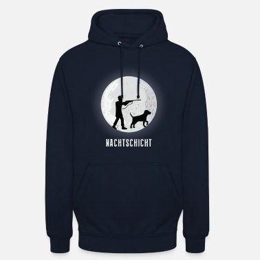 Tee-shirt Hunter Tshirt de nuit Tee-shirt Fun Hunter - Sweat-shirt à capuche unisexe