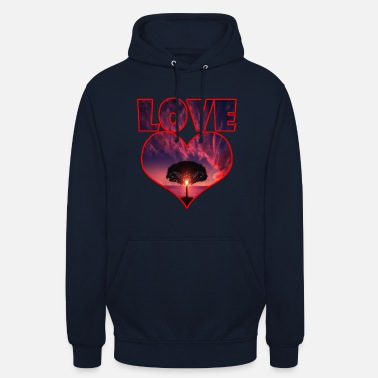 Big Love Big heart big love big tree - Unisex Hoodie