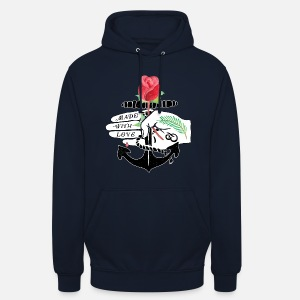 official photos 0b76d 4fb24 fait-avec-amour-anchor-rose-sweat-shirt-a-capuche-unisexe.jpg
