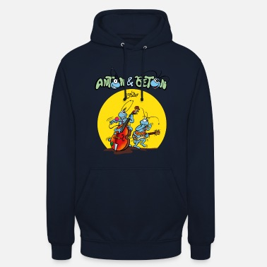 Rock Music Anton & Beton - Blues & Rock and Roll Music - Unisex Hoodie