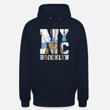 Bronx NYC Brooklyn New York City USA - Gift Idea - Unisex Hoodie