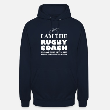 Rugby I Am The Rugby Coach Gift - Hoodie unisex