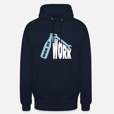 Men at work - Unisex Hoodie