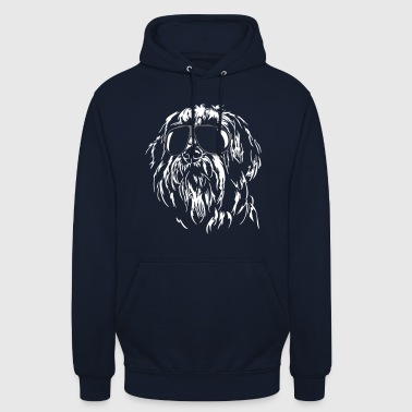 BEARDED COLLIE cool dog dogs wilsigns gift - Unisex Hoodie
