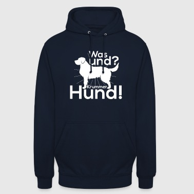 What and crooked dog - Unisex Hoodie
