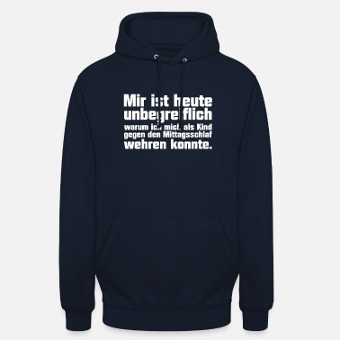 Nap Lunch nap afternoon nap - Unisex Hoodie