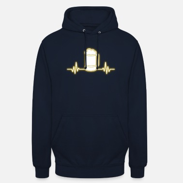 Frequency Beer frequency - Unisex Hoodie