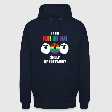 Gay - Rainbow - Mouton - Famille - Gay Pride - Gay - Sweat-shirt à capuche unisexe