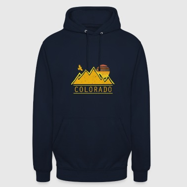 Colorado - Sweat-shirt à capuche unisexe