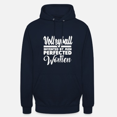 Volleyball Volleyball volleyball joueur cadeau d'anniversaire - Sweat-shirt à capuche unisexe