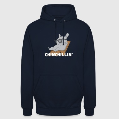 Chinchilla - Chinchillas - Chinchilllin - Funny - Unisex Hoodie