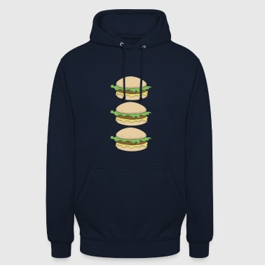 Hamburger hamburger hamburger - Hoodie unisex