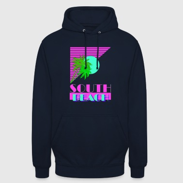 South Beach 80s - Unisex Hoodie
