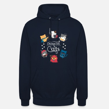 Dungeons and cats - Unisex Hoodie