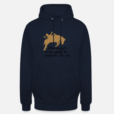 Horse Riding horse riding - Unisex Hoodie