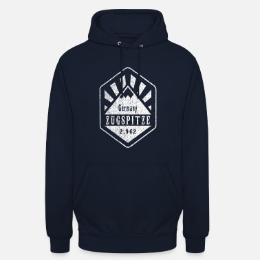 Zugspitze coat of arms - white - Unisex Hoodie