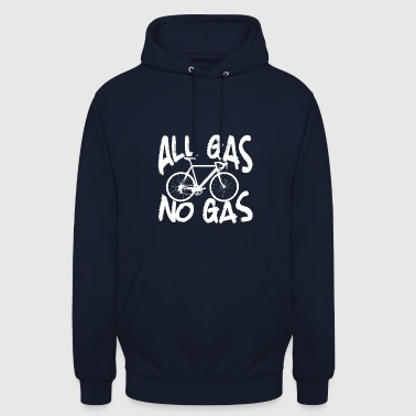 All gas ingen gas - Luvtröja unisex
