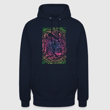 Space decomposition - Unisex Hoodie