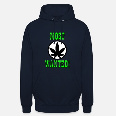 Gras Most Wanted - Weed - Gras - Smoke - Unisex Hoodie