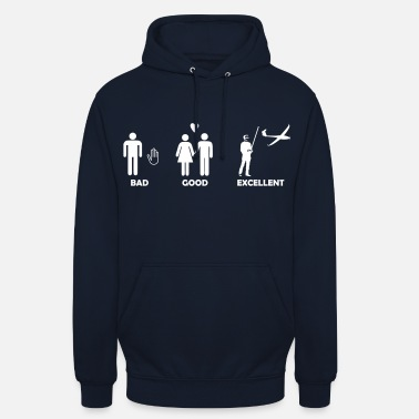 Modellflug bad good excellent modellfliegen - Unisex Hoodie