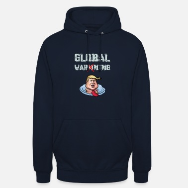 Global avertissement global - Sweat à capuche unisexe