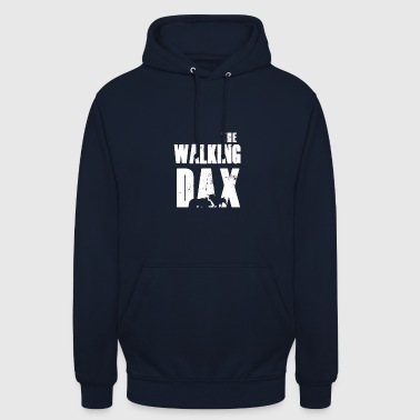 I fan del mercato azionario The Walking Dax Dow Wallstreet - Felpa con cappuccio unisex