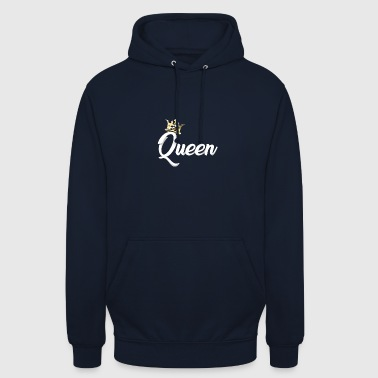 Matchende Queen Crown Royal Matchende Couples Designs - Hættetrøje unisex