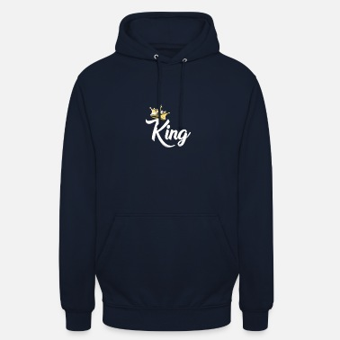 Queen Roi, Royal Prince, Kings and Queens Matching Couple - Sweat-shirt à capuche unisexe