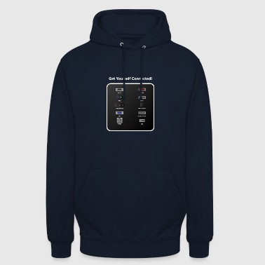 Get Youself Connected! - Hoodie unisex