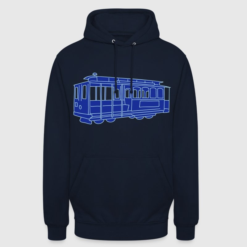 San Francisco Cable Car 2 - Unisex Hoodie