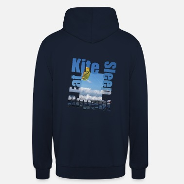 Kiteboarding Eat.Kite.Sleep.Repeat - Unisex Hoodie