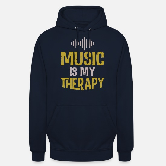 To Sing Hoodies & Sweatshirts - Music shirt - Unisex Hoodie navy