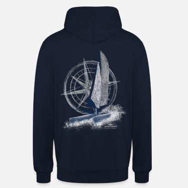 Garda Lakers catamaran compass - Unisex Hoodie