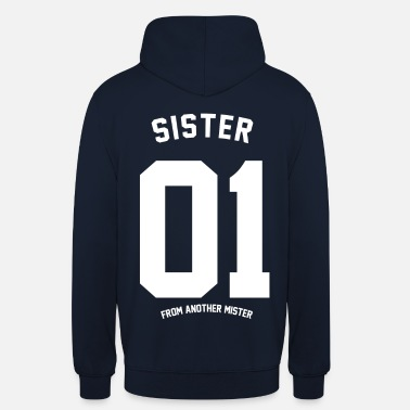 Freundschaft SISTER FROM ANOTHER - Unisex Hoodie