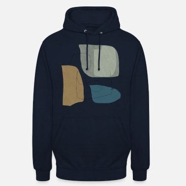 Winter Underwear Minimalistic abstract background N3 - Unisex Hoodie