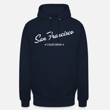 San San Francisco - Sweat à capuche unisexe