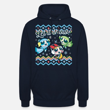 Powerpuff Girls Ugly Christmas Sweater - Unisex hoodie
