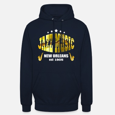 New Orleans Jazz Music New Orleans - Hoodie unisex