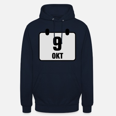 Engagement 9 october birthday anniversary 2c - Unisex Hoodie