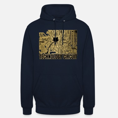 Internet Technology Technology circuit - Unisex Hoodie